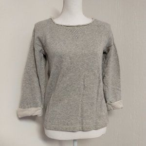 Anne klein Gray Sweatshirt Vintage Small